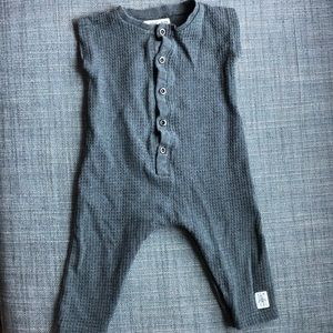 Small Rags Waffle Knit Bodysuit